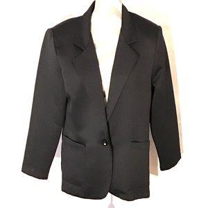 Vintage 80's Oversized Tuxedo Blazer